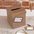 WEDDING WISHES POST BOX/MESSAGE CARDS -Guest Book Alternative-FULL RANGE IN SHOP