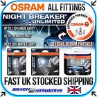 OSRAM NIGHT BREAKER UNLIMITED / LASER ALL BULBS H1 H3 H4 H7 H11 HB3 HB4 D1S D2S