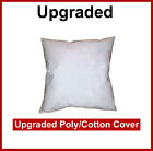 Pillow Form Insert (Polyester Filled) - Upgraded Poly Cotton Cover