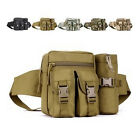 Military Army Fanny Bag Waist Shoulder Pouch Molle 1000D Pack Tactical Assult