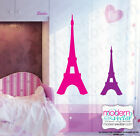EIFFEL TOWER Paris Theme Vinyl Wall Decal Designs Decor Girls Bedroom Nursery