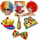 CLOWN FANCY DRESS ACCESSORIES PARTY CIRCUS