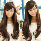 New Sexy Fashion Women Korean Cosplay Party Full Long Hair Wig Wavy Curly Wigs