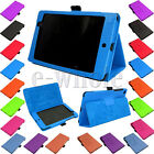Folio Magnetic Leather Stand Case Cover For 2013 ASUS Google Nexus 7 FHD 2nd