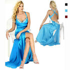 Hot & Sexy Satin Beaded Formal Evening Party Prom Dress Night Ball Gown ed6026
