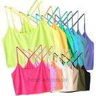 16 Colors Fashion Y -Shape Back Strap Sleeveless Tube Top Brassiere Bra Vest