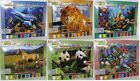 Painting by numbers. Kids childs paint hobby art.Animals,horse,panda