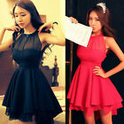 2014 New Summer Women Maxi Long Chiffon Sun Beach Ball Gown Evening Party Dress