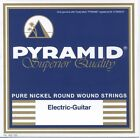 PYRAMID PURE NICKEL ROUND WOUND E-Gitarre Saiten SATZ E-Guitar Strings