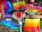 18m09m7035 Various 5mm paj silk belly dance silk veil for Children play