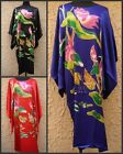 Sleepwear Pyjama Night Dress Flower Oriental Kaftan Nightwear Kimono Vintage