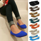 1x  Fashion Ladies Ballerina Dolly Microsuede Pump Womens Slippers Flat Shoes