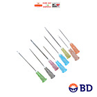 BD Sterile Needles Huge Choice of Gauge & Quantity Blue Green Ink Cycle FAST