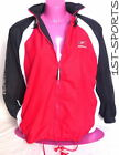 REEBOK WOMENS FULL ZIP HOODED RAIN JACKET, PINK