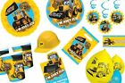 NEW! My 1st JCB Party Supplies / Tableware / Decorations. Construction / Diggers