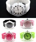Authentic Geneva Women's Watch Light Weight Cycling Out Door Sports Polka Dots image