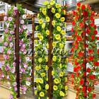 6.56ft Artificial Fake Flower Vine Ivy Arch Wedding Home Garden Decoration Decor