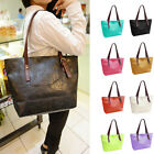 FASHION WOMEN CELEBRITY CANDY PU LEATHER TOTE HANDBAG SHOULDER SATCHEL BAG HOBO