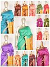 Art Silk Saree Lining Zari SARI EHS Fabric Curtain Six Yards Panel Material