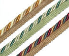 FLANGED BINDING/PIPING 9MM CORD, X2 MTRS, ASSORTED COLS, ART 11.319/9, FREE P&P