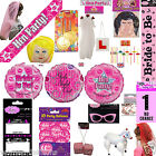 New Fancy Dress Hen Night Party Accessories Decor Bride To Be Gifts & Games