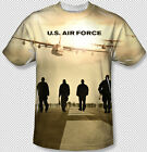 United States Air Force Long Walk All Over Front Sublimation Youth T-shirt Top