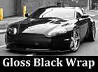 GLOSS BLACK Vinyl Wrap Film - Pro Grade w/ AIR RELEASE 3 Layer- Choose Your Size