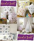 Roald Dahl Designer 100% Cotton Curtain Upholstery Crafts Quilting Dressmakin...