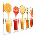 Fruit juice drink food kitchen Canvas Wall Art Print Large + Any Size
