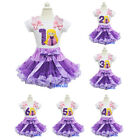 Purple Lavender Pettiskirt Rapunzel Tangled Princess Birthday Tee Party Dress