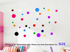 Polka Dot spot Bubble Wall Stickers Kid Decal Art Nursery Bedroom Vinyl Decor 26