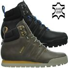 Adidas JAKE BOOT men trail trekking hiking boots black brown leather OP NEW