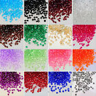 1000x 8mm Acrylic Crystal Diamond Confetti Table Scatters Clear Vase Fillers