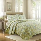 Bahama Plantation Floral 100%Cotton Quilt Set, Bedspread, Coverlet image