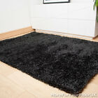 Grey / Black Thick Shaggy Rug, Thick Pile, Soft Touch, Quality, Cheap Price