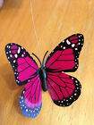solar power Fluttering butterfly garden Decor