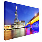 New City of London Skyline at sunset Canvas Art Cheap Multiple Sizes