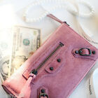 New PREMIUM ITALY REAL LAMBSKIN CLASSIC ARENA CONTINENTAL WALLET Women's Purse