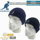 KANGOL Fully Fashioned Cuff Pull On BEANIE 6860BC Warm Winter Hat Knitted Cap