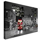 Red Route master Bus Canvas Art Cheap Wall Print Large Any Size