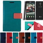 Check Mate PU Leather Vivid Diary Wallet Cover Case for LG OPTIMUS F7 US780