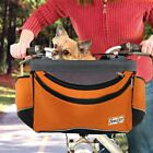 NEW Snoozer Travelon Pet Dog Sporty Bicycle Bike Basket Carrier - RED or ORANGE