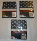 PRIMARK STARS & STRIPES BEDDING SET PILLOWCASE & DUVET SET NEW ALL SIZES BNIP