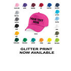 Custom Printed Personalised Baseball Cap Hat - Girls, Boys, Kids, Childrens