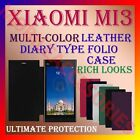 LEATHER DIARY FOLIO FLIP FLAP CASE for XIAOMI MI3 FULL FRONT & BACK COVER LATEST
