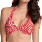 NEW Freya Swimwear St Louis Halter Bikini Top 3499 Lipstick Various Sizes