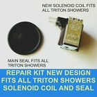 TRITON electric shower leaking  No Water? solenoid coil & seal service kit  DIY.