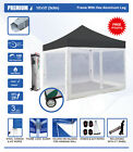 Eurmax Canopy 10x10 Premium Canopy Tent with Full Screen Walls, Free 10FT Awning