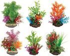 Sucker Mounted Aquarium Plant Fish Tank Plants 3D Background in 6 Styles