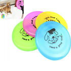 New Pet Dog Puppy Cat Training Flying Saucer Disc Frisbee Toy Dog printed MO